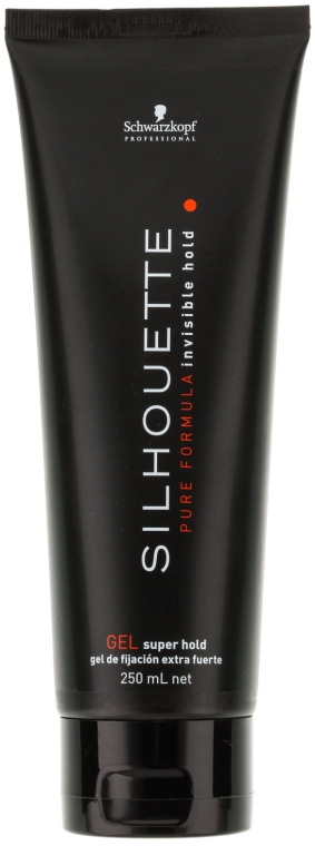 Haargel Extra starker Halt - Schwarzkopf Professional Silhouette Super Hold Gel — Bild N2