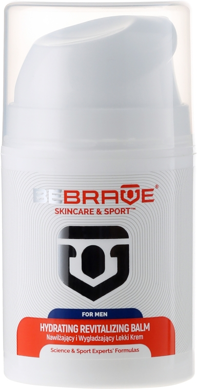 Revitalisierender und feuchtigkeitsspendender Gesichtsbalsam für Männer - BeBrave Hydrating Revitalizing Balm-For Men — Bild N2