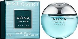 Düfte, Parfümerie und Kosmetik Bvlgari Aqva Pour Homme Marine - Eau de Toilette (Mini)