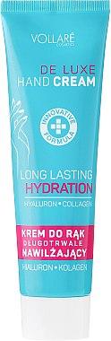 Feuchtigkeitsspendende Handcreme - Vollare Cosmetics De Luxe Hand Cream Long Lasting Hydration — Bild N1