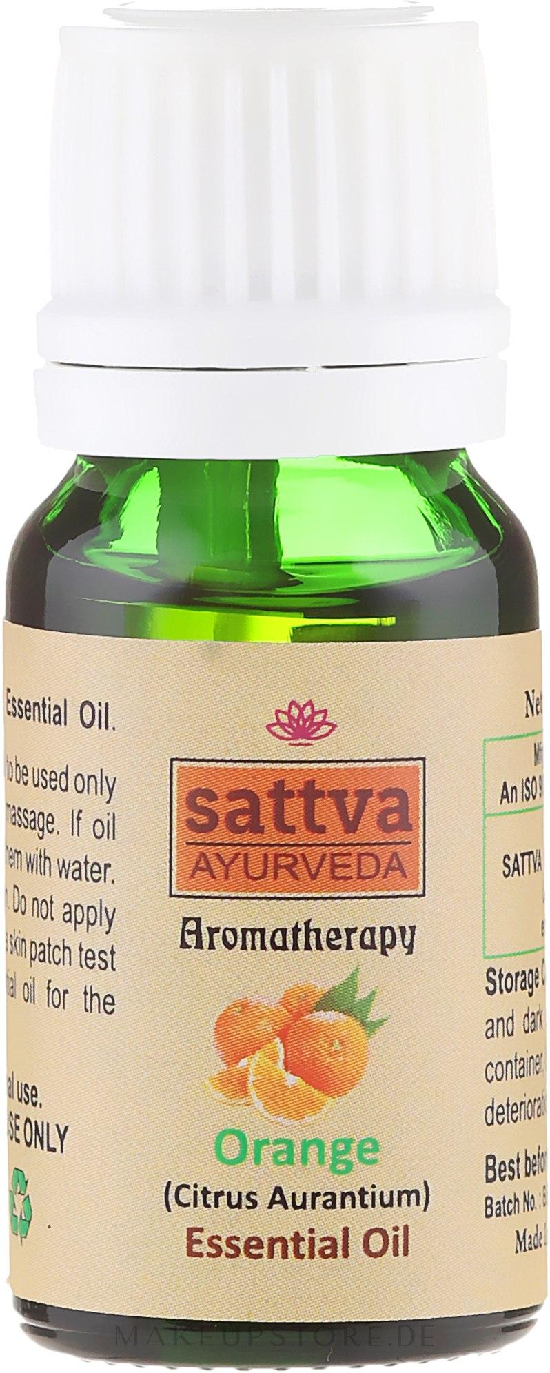 """Ätherisches Öl """"Orange"""" - Sattva Ayurveda Orange Essential Oil — Bild 10 ml"""