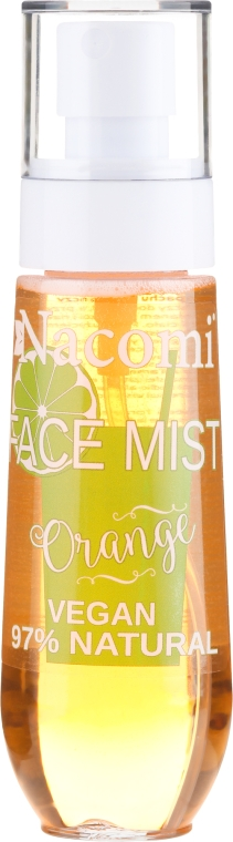 Gesichtsspray mit Orangenduft - Nacomi Face Mist Orange