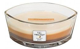 Düfte, Parfümerie und Kosmetik Duftkerze im Glas Cafe Sweets - WoodWick Hearthwick Flame Ellipse Trilogy Candle Cafe Sweets