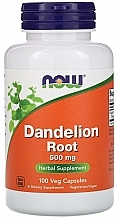 Düfte, Parfümerie und Kosmetik Nahrungsergänzungsmittel Löwenzahnwurzel 500 mg - Now Foods Dandelion Root