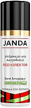 Düfte, Parfümerie und Kosmetik Korrigierende Gesichtscreme - Janda Corrector Capillary Skin Cream