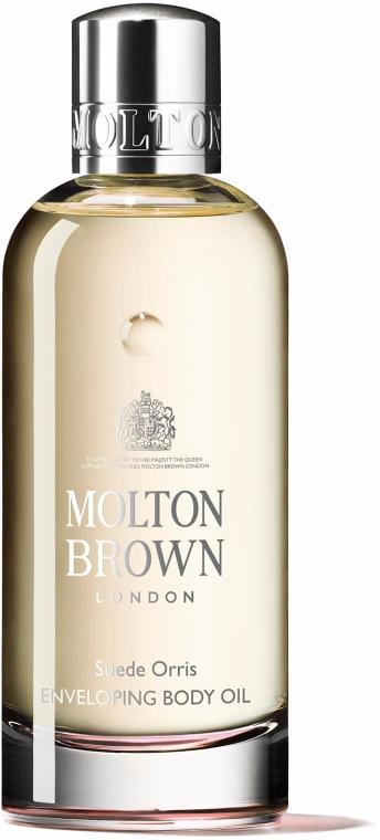 Molton Brown Suede Orris Enveloping Body Oil - Feuchtigkeitsspendendes Körperöl mit Argan — Bild N1