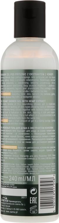 Feuchtigkeitsspendendes Duschgel mit Hanfextrakt - Joanna Botanicals For Home Spa Cannabis Seed Shower Gel — Bild N2