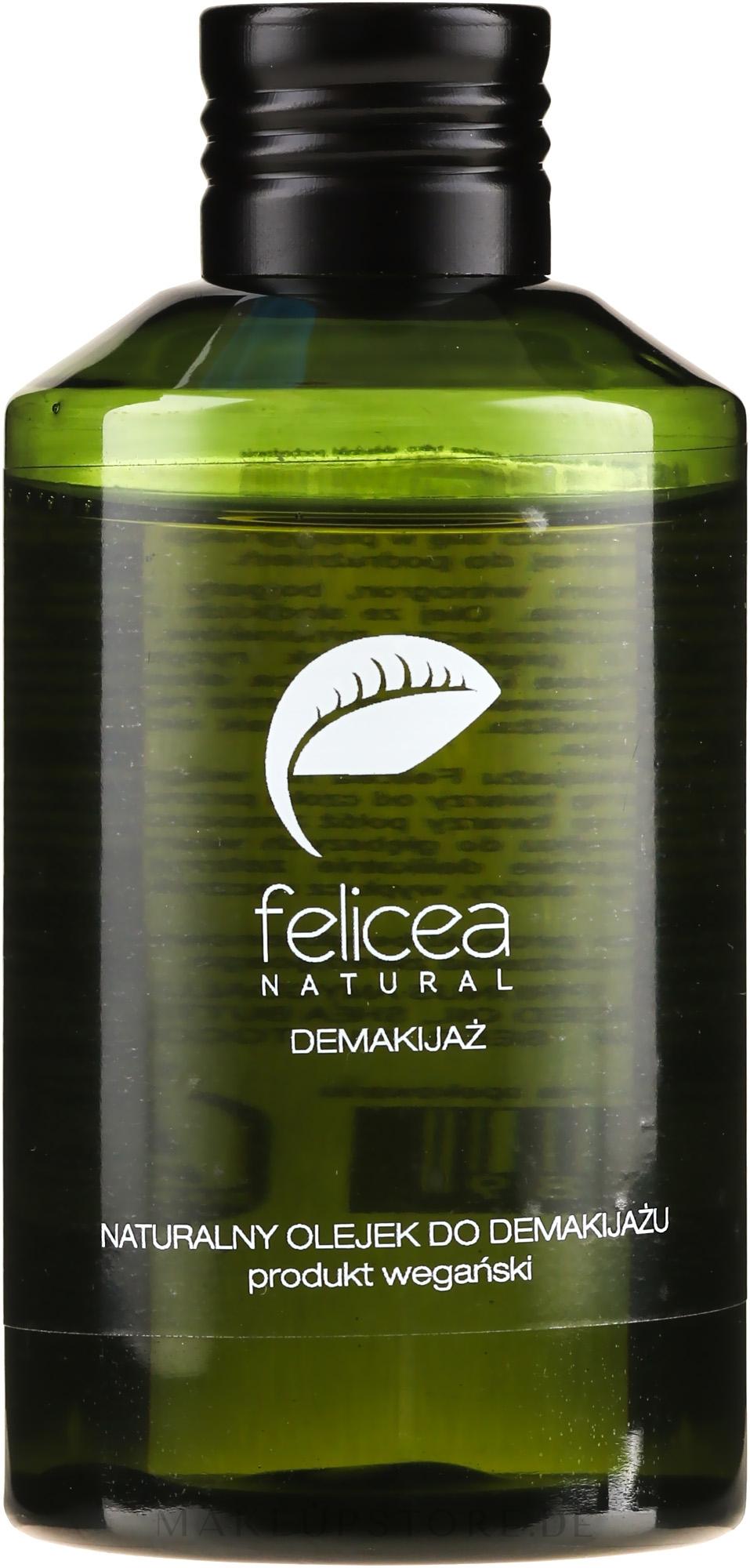 Natürlicher Make-up-Entferner für alle Hauttypen - Felicea Natural Makeup Remover Oil — Bild 150 ml