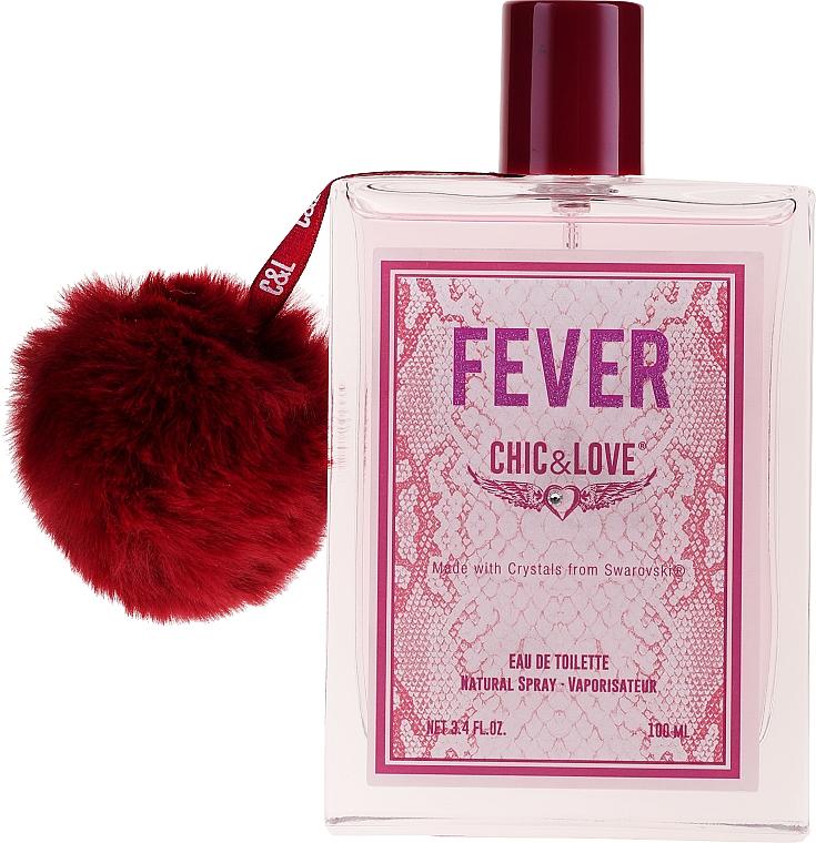 Chic&Love Fever - Duftset (Eau de Toilette 100ml + Kosmetiktasche) — Bild N2