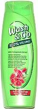 Düfte, Parfümerie und Kosmetik Shampoo für gefärbtes Haar mit Granatapfelextrakt - Wash&Go