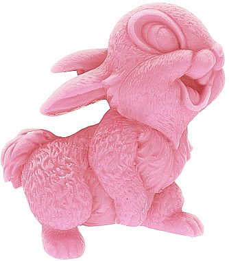 Handgemachte Naturseife Kaninchen mit Kirschduft - LaQ Happy Soaps Natural Soap — Bild N1