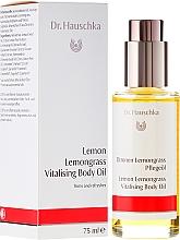 Düfte, Parfümerie und Kosmetik Vitalisierendes Körperöl Lemon & Lemongrass - Dr. Hauschka Lemon Lemongrass Vitalizing Body Oil