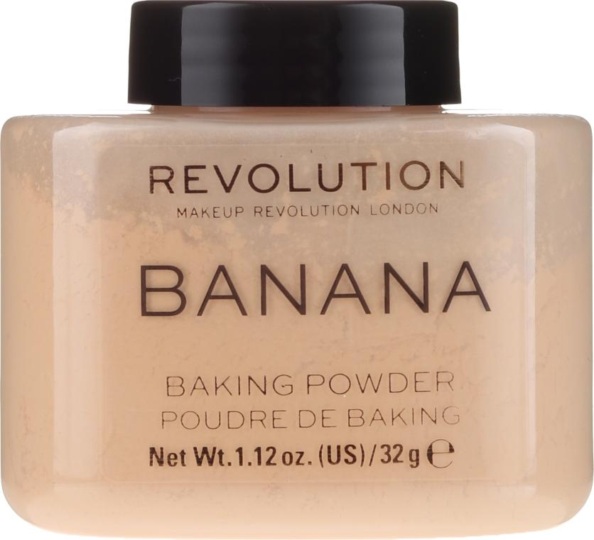 Bananen-Puder - Makeup Revolution Banana Baking Powder — Bild N1