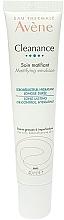 Düfte, Parfümerie und Kosmetik Feuchtigkeitsspendende und mattierende Gesichtsemulsion für fettige Haut - Avene Cleanance Mattifying Emulsion