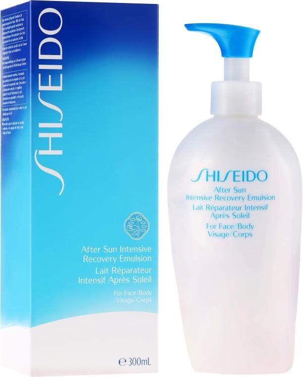 Intensiv revitalisierende Gesichts- und Körperemulsion nach dem Sonnen - Shiseido Suncare After Sun Intensive Recovery Emulsion — Bild N1