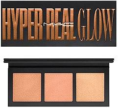 Düfte, Parfümerie und Kosmetik Highlighterpalette - M.A.C Hyper Real Glow Palette