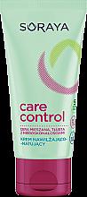 Düfte, Parfümerie und Kosmetik Feuchtigkeitsspendende und mattierende Gesichtscreme - Soraya Care Control