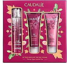 Düfte, Parfümerie und Kosmetik Duftset - Caudalie The Des Vignes Scented Trio (Eau de Parfum 50ml + Duschgel 50ml + Körperlotion 50ml)
