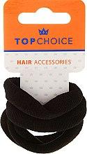Düfte, Parfümerie und Kosmetik Haargummis schwarz 4 St. - Top Choice
