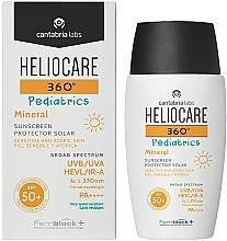 Düfte, Parfümerie und Kosmetik Sonnenschutzcreme-Gel für Kinder SPF 50+ - Cantabria Labs Heliocare 360? Pediatrics Mineral SPF 50+