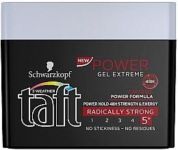 Düfte, Parfümerie und Kosmetik Haargel Extra starker Halt - Schwarzkopf Taft Power Gel Extreme
