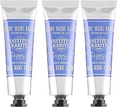 Düfte, Parfümerie und Kosmetik Handpflegeset - Institut Karite Shea Hand Cream (Handcreme 3x30ml)