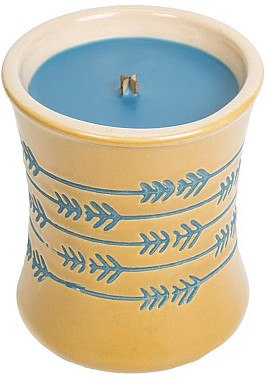 Duftkerze Denim - WoodWick Denim Ceramic Hourglass Candle — Bild N1