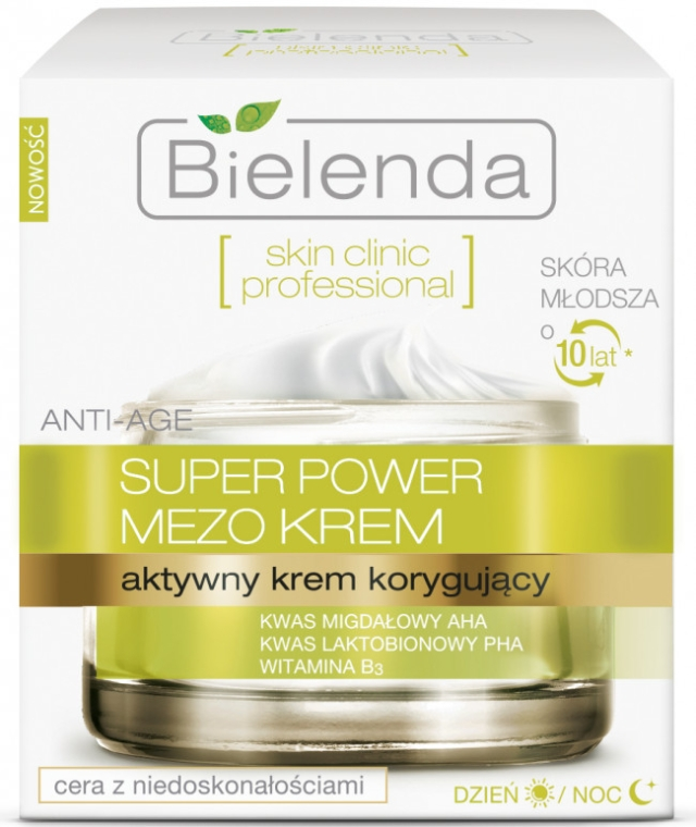 Aktive Korrekturcreme für Tag und Nacht - Bielenda Skin Clinic Professional Mezo Anti-age — Bild N1