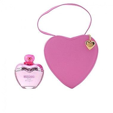 Moschino Pink Bouquet - Duftset (Eau de Toilette 100ml+rosa Herztasche) — Bild N4