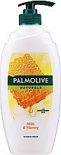Düfte, Parfümerie und Kosmetik Duschcreme mit Milch und Honig - Palmolive Naturals Milk Honey Shower Gel (mit Spender)
