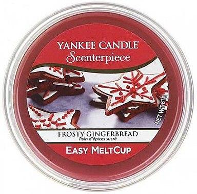 Tart-Duftwachs Frosty Gingerbread - Yankee Candle Frosty Gingerbread Melt Cup — Bild N1