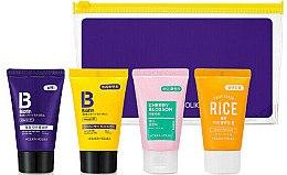 Düfte, Parfümerie und Kosmetik Körperpflegeset - Holika Holika Biotin Travel Kit (Shampoo 30ml + Conditioner 30ml + Körpergel 30ml + Schaum 30ml)