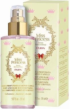 Pupa Miss Princess Body and Hair Scented Water Jasmine - Eau de Parfum — Bild N1