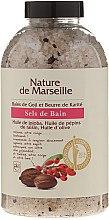 Düfte, Parfümerie und Kosmetik Badesalz mit natürlichen Ölen Goji-Beeren und Sheabutter - Nature de Marseille