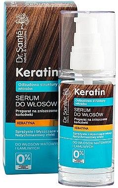 Serum für stumpfes und sprödes Haar mit Keratin - Dr. Sante Keratin — Bild N1