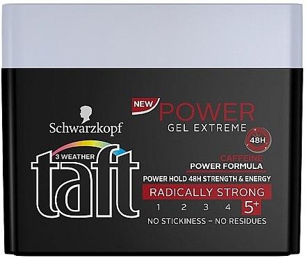 Haargel Extra starker Halt - Schwarzkopf Taft Power Gel Extreme — Bild N1
