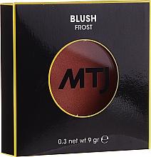 Düfte, Parfümerie und Kosmetik Gesichtsrouge - MTJ Cosmetics Frost Blush