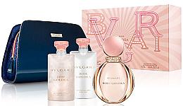 Düfte, Parfümerie und Kosmetik Bvlgari Rose Goldea - Duftset (Eau de Parfum/90ml + Körperlotion/75ml + Duschgel/75ml + Kosmetiktasche)