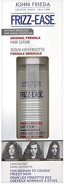 Haarserum mit Anti-Frizz-Wirkung und Hitzeschutz - John Frieda Frizz Ease Original 6 Effects Serum — Bild N2