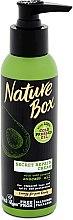 Düfte, Parfümerie und Kosmetik Haarcreme für splissiges Haar mit kaltgepresstem Avokadoöl - Nature Box Secret Repair Cream