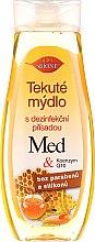 Düfte, Parfümerie und Kosmetik Flüssige Handseife mit Honig und Coenzym Q10 - Bione Cosmetics Honey + Q10 Hand Wash (Ohne Spender)