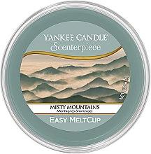 Düfte, Parfümerie und Kosmetik Tart-Duftwachs Misty Mountains - Yankee Candle Misty Mountains Melt Cup