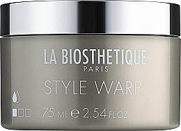 Düfte, Parfümerie und Kosmetik Glanz-Wachs zum Formen und dauerhaftem Fixieren - La Biosthetique Style Warp