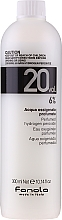 Düfte, Parfümerie und Kosmetik Entwicklerlotion 6% - Fanola Acqua Ossigenata Perfumed Hydrogen Peroxide Hair Oxidant 20vol 6%