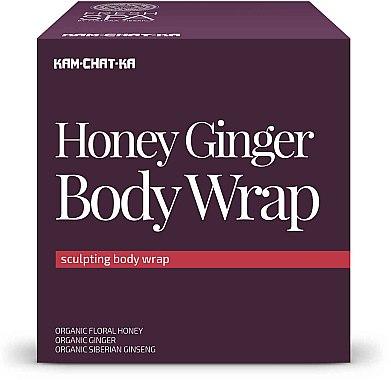 Anticellulite Körperbehandlung mit Honig und Ingwer - Natura Siberica Fresh Spa Kam-Chat-Ka Honey Ginger Body Wrap — Bild N1