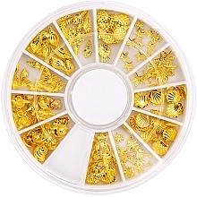 Düfte, Parfümerie und Kosmetik Nageldekoration Summer Gold - Peggy Sage Carousel For Nail Decorations Summer Gold
