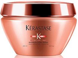 Düfte, Parfümerie und Kosmetik Intensiv pflegende Haarmaske für alle Lockentypen mit Pro-Keratin und Elastin - Kerastase Discipline Curl Ideal Masque