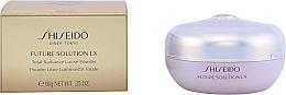 Loser Gesichtspuder mit Glow-Effekt - Shiseido Future Solution LX Total Radiance Loose Powder — Bild N2