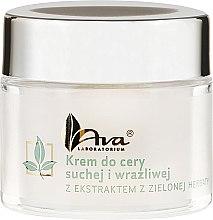 Gesichtscreme mit Grüntee-Extrakt für trockene und empfindliche Haut - Ava Laboratorium Green Tea Cream For Dry And Sensitive Skin — Bild N2