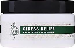 Düfte, Parfümerie und Kosmetik Fußcreme mit Eukalyptus und Minze - Bath and Body Works Stress Relief Cracked Heel Treatment